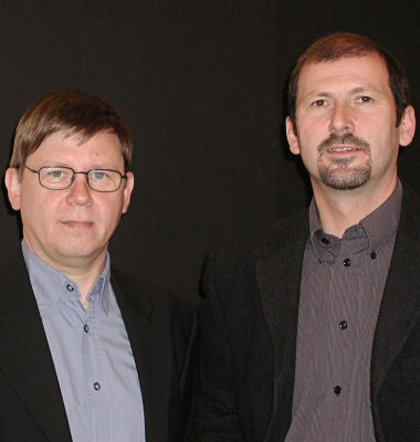 Bernd Braun (links) und Frank Spangenberg (rechts)