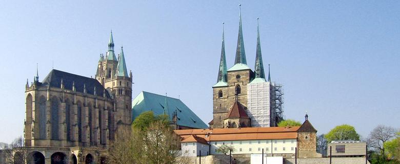Sanierung: Katholische Pfarrkirche St. Severi, Erfurt