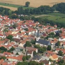 Luftbild Herbsleben, St. Trinitatis