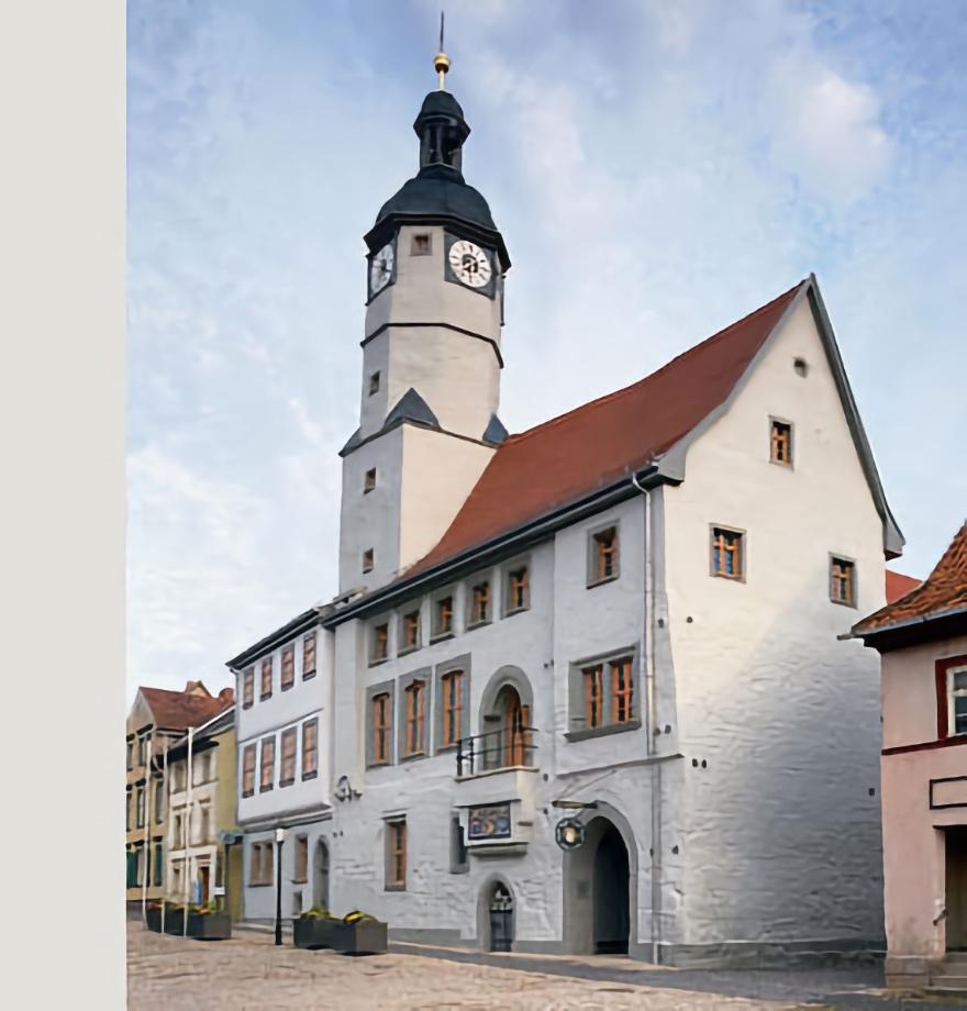 Rathaus Weißensee, Sanierung und Umbau