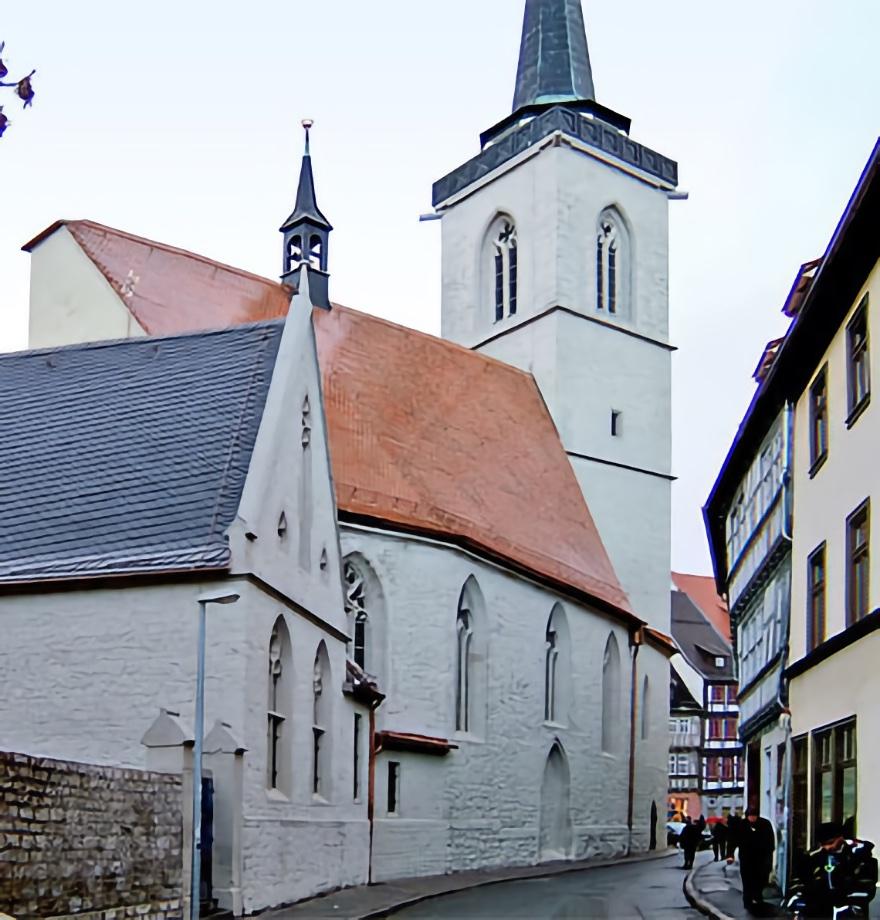 Katholische Allerheiligenkirche, Erfurt